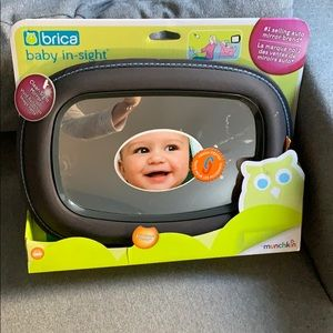Baby car mirror - NEW IN BOX